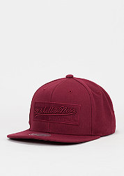 Snapback-Cap Box Logo beet red