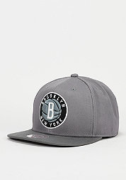 Snapback-Cap Variant NBA Brooklyn Nets grey