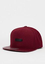 Snapback-Cap Base burgundy