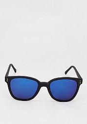 Sonnenbrille Renee black rubber/blue mirror