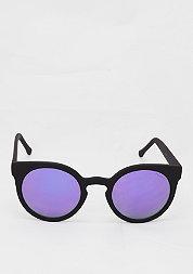Lulu black rubber/purple mirror