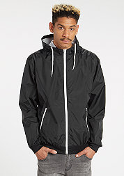 Jacke Contrast Windrunner black/white