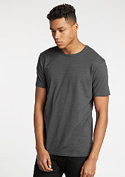 T-Shirt Fitted Stretch charcoal