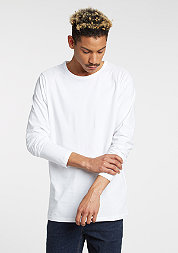 Longsleeve Fitted Stretch white