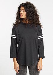 T-Shirt Sleeve Striped black/white