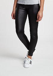 Leggings Leather Imitation black