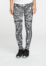 Leggings Ornament black/white