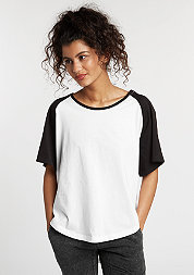 T-Shirt Raglan HiLo white/black
