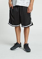 Sport-Shorts Stripes Mesh black/black/white
