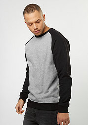 Sweatshirt 2-Tone Raglan grey/black