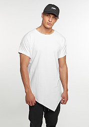 T-Shirt Asymetric Long white