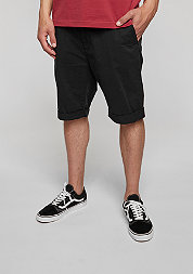 Chino-Short Stretch Turnup black
