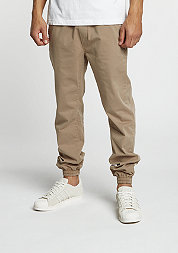 Trainingshose Stretch Twill beige