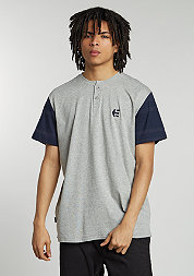E-Corp Henley navy/heather