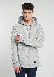 Jacke Point A Zip grey/heather