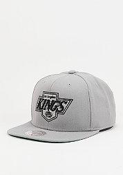 Snapback-Cap Wool Solid NHL Los Angeles Kings grey