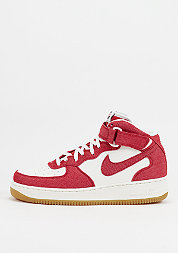 Air Force 1 Mid 07 university red/sail/gum light