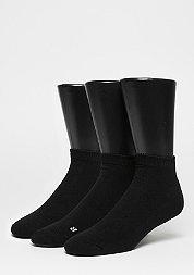 LoCut Socks 3er Pack black