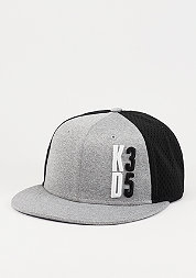 Snapback-Cap KD Performance True black/dark grey heather/cool grey
