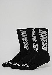 Sportsocke SB Crew black/white