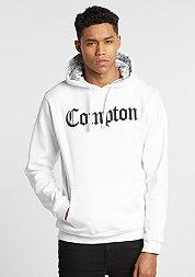 Hoodie Compton Hooded Bandana white