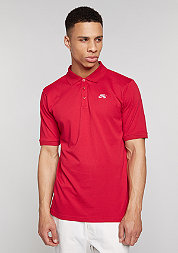 Poloshirt Dri-Fit Pique gym red/white