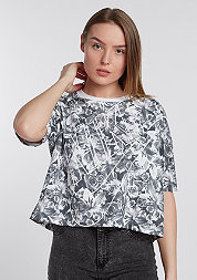 T-Shirt NSW Top AOP FTW black/white