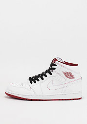 Air Jordan 1 Mid white/gym red/black