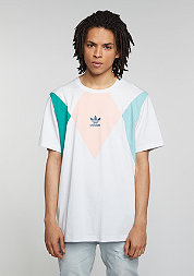 T-Shirt Tennis vintage white