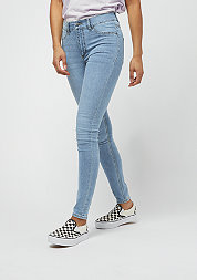 Jeans High Spray Stone Bleach light blue