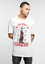 T-Shirt In The Mist Of Greatness white/black