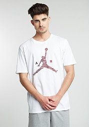 T-Shirt Air Jumpman white/gym red