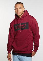 Hooded-Sweatshirt Box Logo ruby