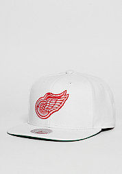 Snapback-Cap Wool Solid NHL Detroit Red Wings white