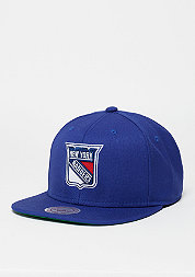 Snapback-Cap Wool Solid NHL New York Rangers navy