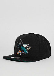 Wool Solid NHL San Jose Sharks black