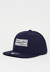 Snapback-Cap Poly Knit navy