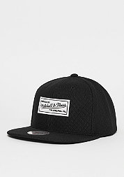 Snapback-Cap Poly Knit black