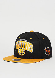 Snapback-Cap Team Arch NHL Boston Bruins black