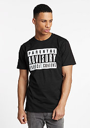 T-Shirt Parental Advisory black