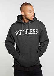 Hooded-Sweatshirt Ruthless charcoal