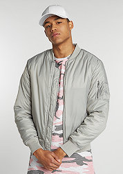 Jacke Basic Bomber light grey