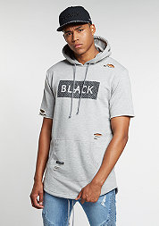 Hooded-Sweatshirt BL Presidental Distressed Cut Off grey heather/bl