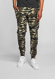 C&S BL Jogger Pants Distressed woodland