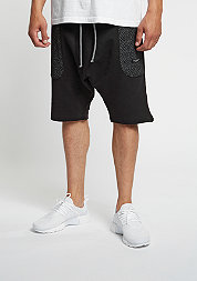 C&S BL Sweat Shorts Presidential Low Crotch marauder black