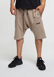 C&S BL Sweat Shorts Deuces Low Crotch sand/olive