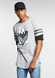 T-Shirt WL Ivan Antonov Scallop greyheather/black/white