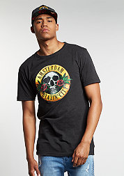 C&S GL Tee Budz N Roses Long washed black/mc