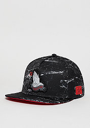 Snapback-Cap WL Chosen One black marble/red