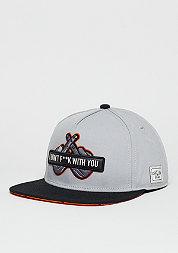 Snapback-Cap WL Don´t Fuck grey/black/orange